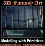 Modelling with Primitives by 3D-Fantasy-Art