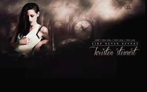 Wallpaper Kristen Stewart - Like Never Before by adoring-kstew