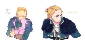 Anders doodle by potatopencil