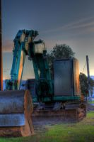 Construction vehicle in HDR by dzign-art