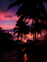 Cuban Sunset by KMourzenko