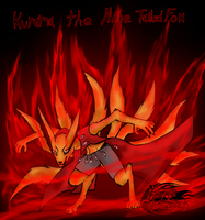 The Power of Kurama The Nine Tailed Fox by Royle-McCulloch
