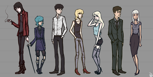 FSS - character lineup 2012 by LeerReel