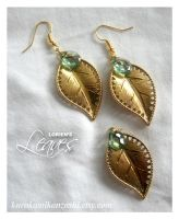 Lorien's Leaves - FOR SALE by Kurokami-Kanzashi