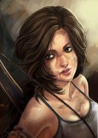 Lara Croft by Shaiyan