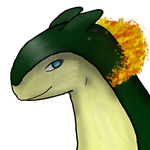 Petro the Typhlosion by blackminorscales