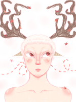 Faun by Redpaperlantern