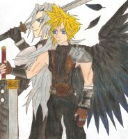 FFVII : Shadow of a Nightmare by Sparx-the-Fox