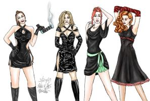 Little Black Dresses - 6 by stargate4ever23