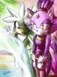 One Hour Sonic 004 - Blaze and Cake by ElsonWong