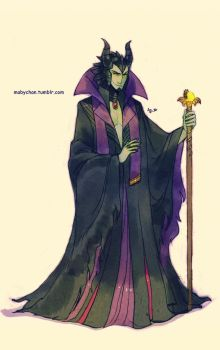 Male!Maleficent by MabyMin