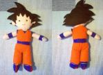 Goku from Dragon Ball Z by CuteGio