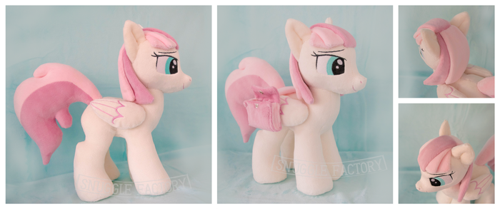 Patient Breeze Custom OC Plushie with Saddle Bags by SnuggleFactory