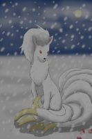 Heavy snow by SilverMamepato