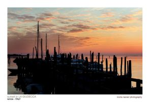 : sunset in venice by moiraproject