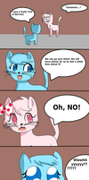 Legend Of Love And Blue Page 5 by StrawberryKittySwirl