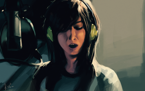Christina Grimmie by Renevatia