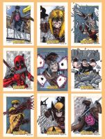 X-Men Origins Wolverine Cards B by tonyperna