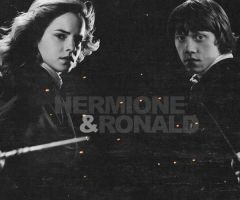 Hermione and Ronald by DetectiveMaya