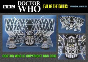 Doctor Who - Evil of the Daleks 2 by mikedaws