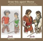 :beforeaftermeme: Brothers by ufficiosulretro