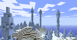 Three Tall Icy spikes by Masterblaster1234