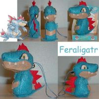 Feraligatr Bell Plush by AmberTDD