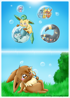 blowing bubbles by Isi-Daddy