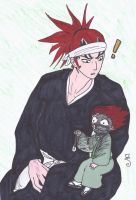 Renji and Little Renji by swirlheart