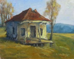 Sims Farmhouse - Early Spring by JWood11