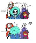 I just like drawing Fluffy Sans by Bunnygirle26
