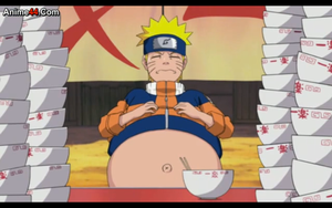 Naruto: Big ol' gut by AnimeBellyFan