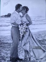 'Sealed with a kiss' - 2015 - (Drawing) by Stevegillettart