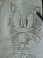 Classic sonic by vocaloid02fan