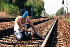 Train is coming (Chloe Price- Life is Strange) by vrihedd1