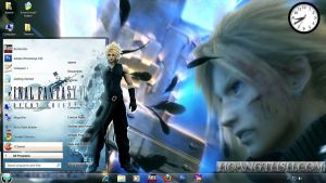 Style Win7: Final Fantasy VII by hoangtush