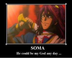 Soma The God ... It Has A Nice Ring To It! by ZinniaSnowdrop