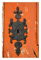 Antique Lock - Marvao by FilipaGrilo