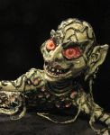 Monster Under The Bed: Closeup by LabyrinthCreations