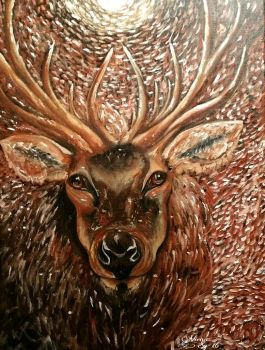 A lovely spirit...! by virnagray