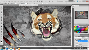 RageWallpaperFeralWIP-updated by X-TIGRA