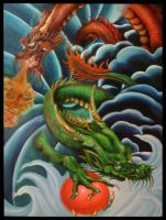 Descendants of the Dragon by Petine