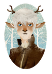 Jack Frost the Fawn by JuliaLost