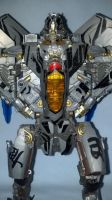 close up shot of leader class starscream by TribalBunny13