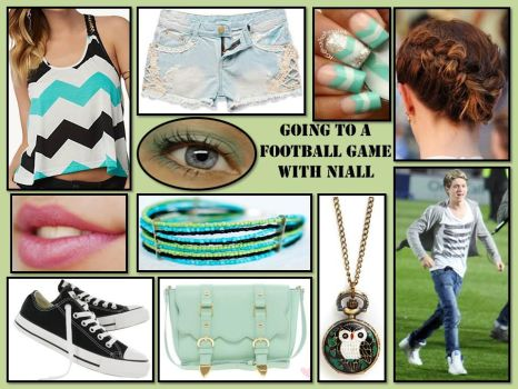 Going to a Football Game With Niall by lovevampireboys