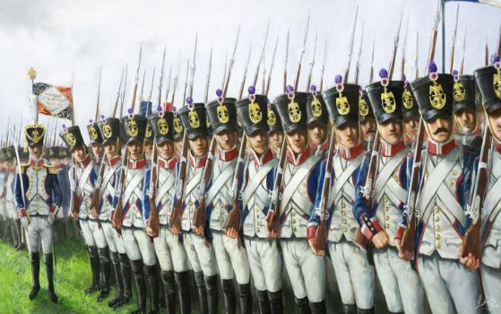 French Line Infantry 1811 by lathander1987