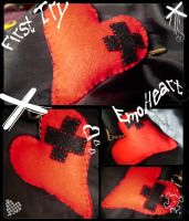 First try - EmoHeart xD by HitomiMelissa