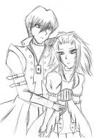Seto x Aki Lineart by Crystal-Dream