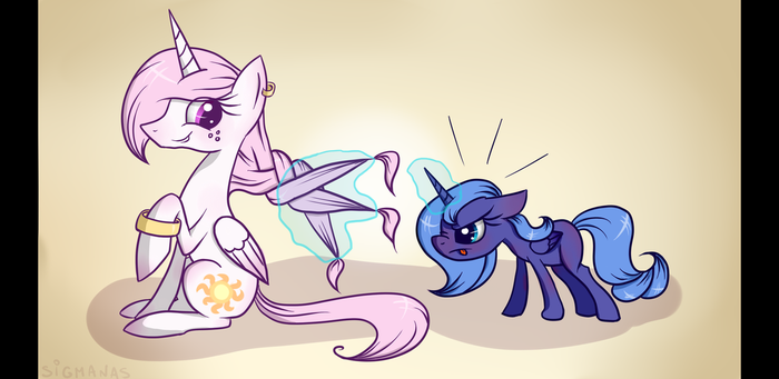 You can do it, sweetheart! by SigmaNas