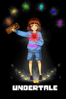 Frisk the mercy child. by RoseMadness